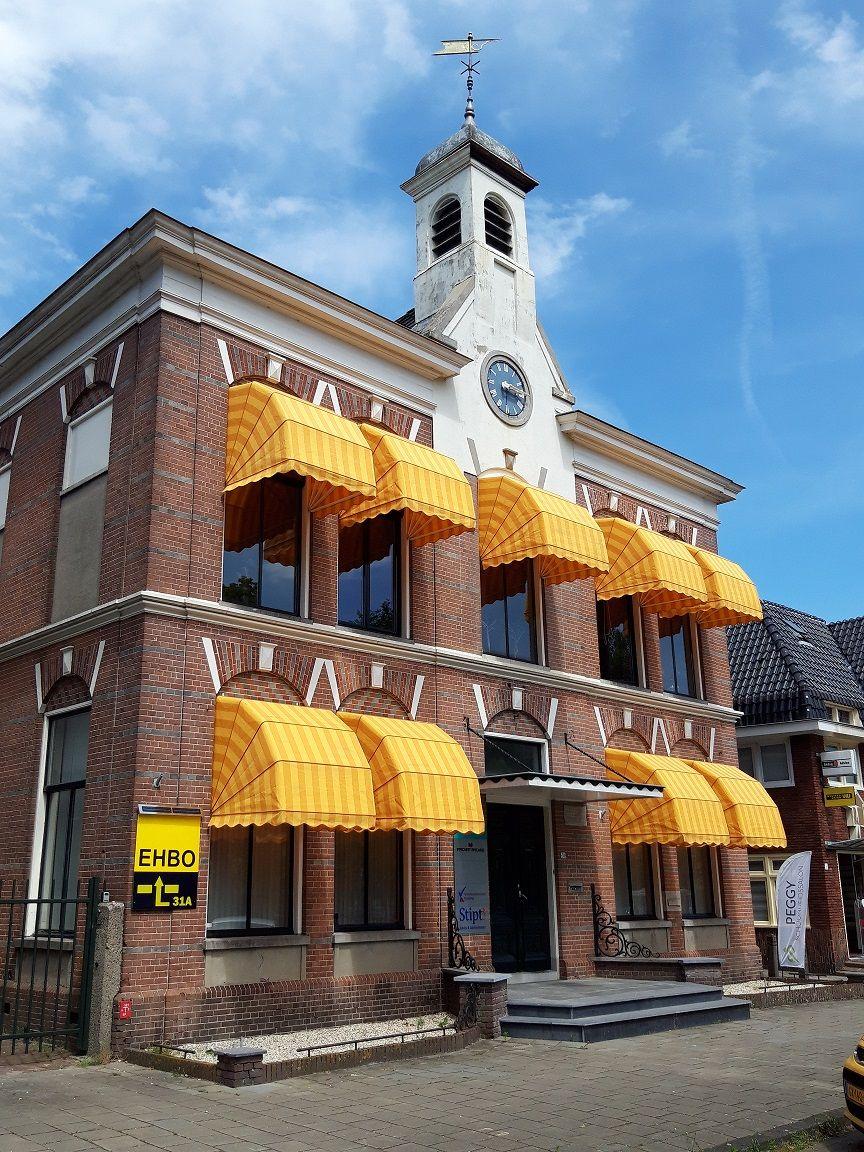Het voormalige gemeentehuis van Hoogezand Sappemeer